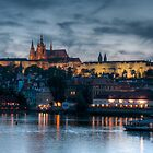 Prague castle by Christian Froehlich