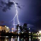 Valdosta Lights by Dennis Jones - CameraView