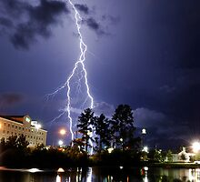 Valdosta Lights by Dennis Jones - CameraView