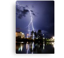 Valdosta Lights Canvas Print