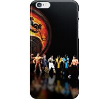 Mortal Kombat pixel art iPhone Case/Skin