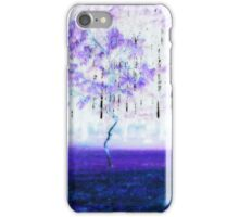 Purple Rain .... iPhone Case/Skin