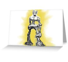 Mono Robot Wants Revenge Greeting Card