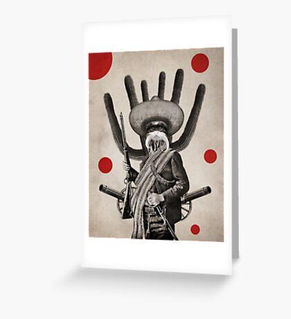 Anthropomorphic N°8 Greeting Card