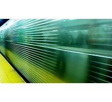 Subway Series #3 - Rush Hour Photographic Print