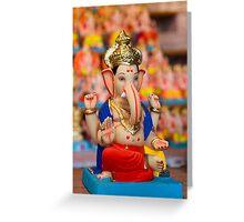 Moods of Lord Ganesh #4 Greeting Card