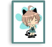 Mew Mew Chibi Cat Canvas Print