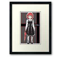 Gothic Rayne Framed Print