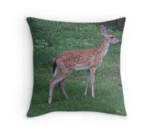 Bambi a little Older Throw Pillow