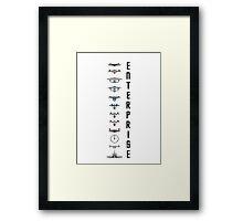 Star Trek - Enterprise Framed Print