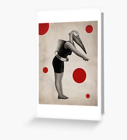 Anthropomorphic N°9 Greeting Card