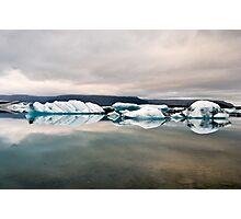 Glacier Lagoon August 2009 #1 Photographic Print