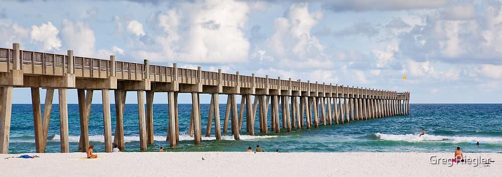 Pensacola Beach by Greg Riegler