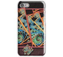 Squared Spirals 150518-022 iPhone Case/Skin