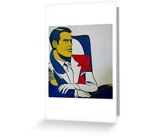 Dick Tracy Greeting Card