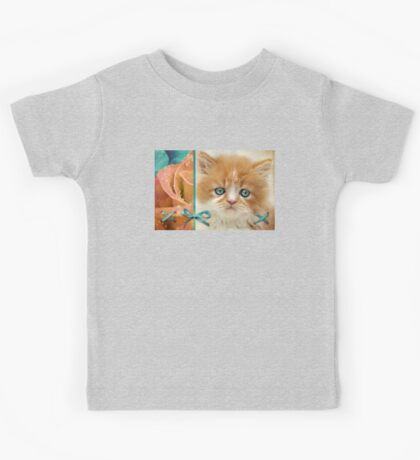 Raindrops on Roses and Whiskers on Kittens Kids Tee