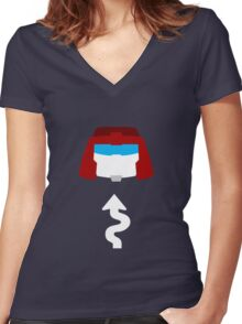 Transformers - Swerve Women's Fitted V-Neck T-Shirt