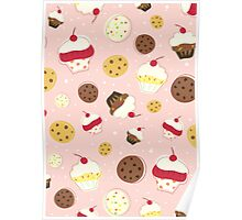 Cupcakes and Cookies Poster