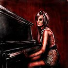 pianogirl by Jeremy Bratton