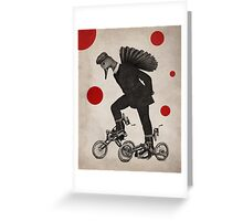 Anthropomorphic N°10 Greeting Card