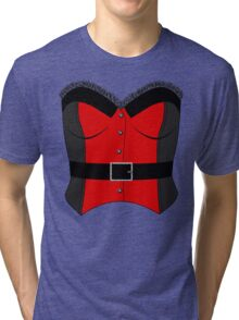 Red Corset Tri-blend T-Shirt