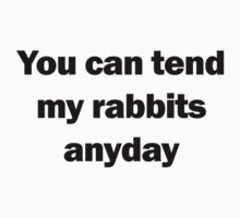 Of Mice and Men | Tend My Rabbits by MrJDuffield