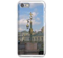 Street light in Saint-Petersburg iPhone Case/Skin