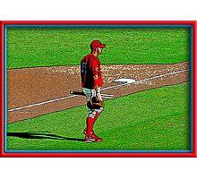 Pre-game Baseball Image #3 Photographic Print