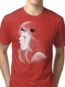 clown girl Tri-blend T-Shirt