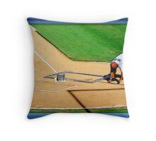 Pre-game Baseball Image #4 Throw Pillow