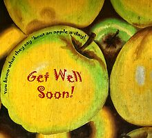An Apple A Day (Card) by pat gamwell