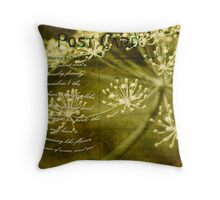 Dillweed Card Throw Pillow