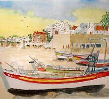 Summer on The Algarve by GEORGE SANDERSON
