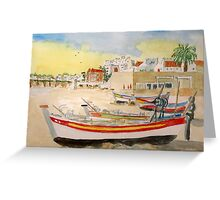 Summer on The Algarve Greeting Card
