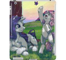 Evening with Sweetie belle iPad Case/Skin