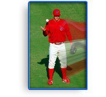Pre-game Baseball Image #7 Canvas Print