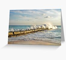 mexican wave Greeting Card