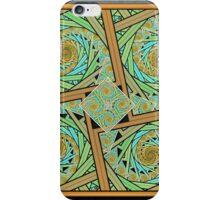 Squared Spirals 150518-047 iPhone Case/Skin