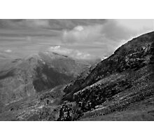 Mount Snowdon Photographic Print