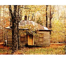 Woodland Cottage Photographic Print