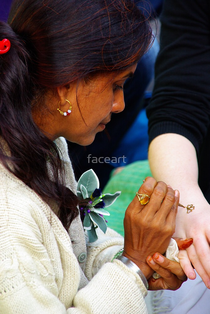 Touching... by faceart
