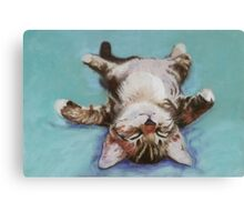 LITTLE NAPPER Canvas Print