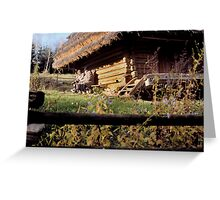 Shevechenko Museum Village Greeting Card