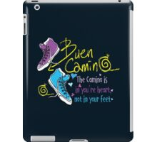 The camino is in you're heart iPad Case/Skin