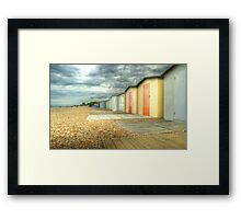 Bognor Regis - Brewing... Framed Print