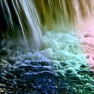 Multicolor waterfall by Gouzelka