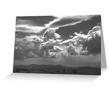 CLOUD COVER3 Greeting Card