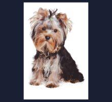 Yorkshire terrier puppy Kids Tee