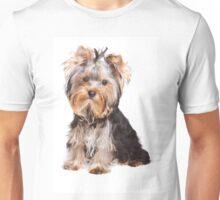 Yorkshire terrier puppy Unisex T-Shirt