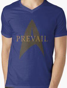 """Star Trek- """"Prevail"""" Mens V-Neck T-Shirt"""